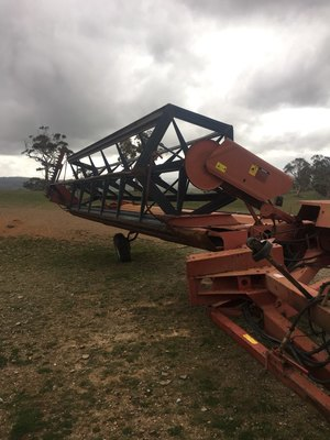 Case 726 Windrower