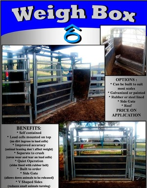 Cattle Weigh Box