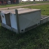 Aluminium Tray with 2 Large Tool Boxes
