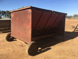 Under Auction - (A132) - Large Cattle Feeder- B - 2% + GST Buyers Premium On All Lots