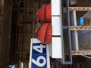Under Auction - (A129) - Lights, 3 Double Fluoro, 9 Single Hanging Frames - 2% + GST Buyers Premium On All Lots