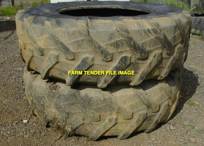 WANTED 20.8R38 Tractor Tyres with Rims & Spacers