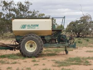 Alfarm 40ft air seeder for sale