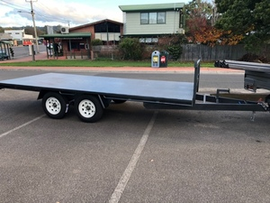 4.8 x 2.2 flat bed trailer