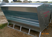 Paton New LF24 Cattle Lick Feeder On Skids