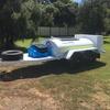 2000 lt Mobile Fuel Trailer