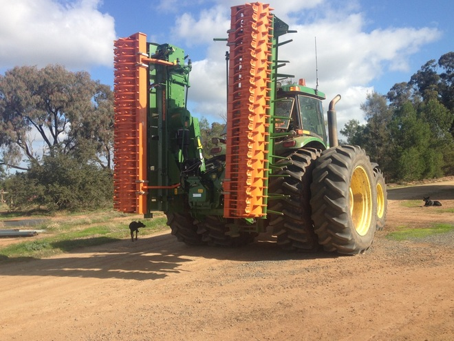 2016 Amazone 6001-2 6M Power Harrow