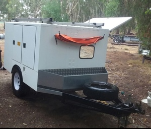 Lockable Tradesman's / Service trailer For Sale