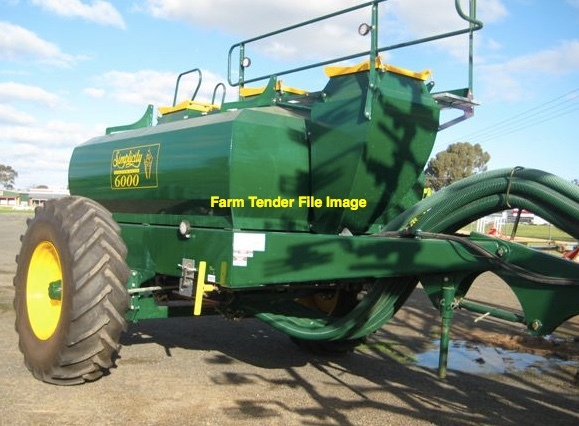 Simplicity 6-7000Lts Tow behind Air seeder Cart wanted Single Axle