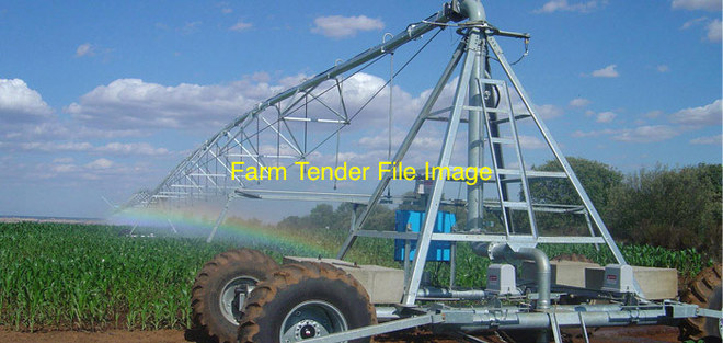 WANTED - Linear move Irrigator, 100mtr span. In good working condition.