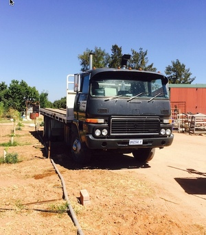Bedford 24ft Tray truck