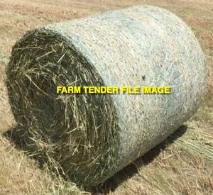 220mt Oaten Hay 260kg 4x4 Round Bales