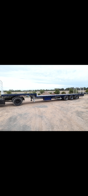 2 x 48ft Kreuger Drop Decks Trailers