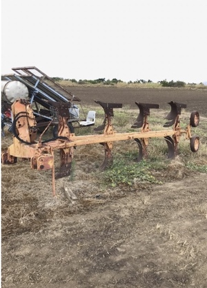 Krone 4 furrow Plough