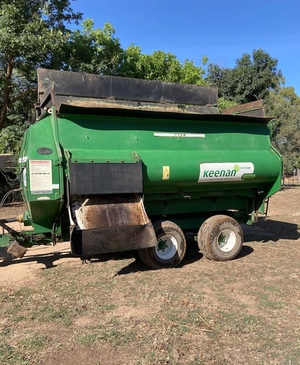 2006 Keenan 140 Feed Mixer Wagon
