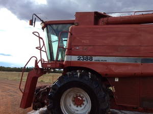 Case 2388 Header with 1010 Front with Air Reel