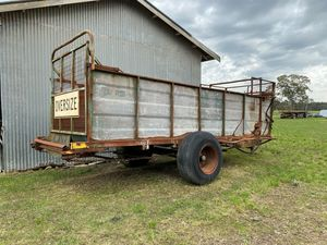 Under Auction - (A131) - Lowan Forage Silage Wagon - 2% + GST Buyers Premium On All Lots