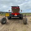 2015 Massey Ferguson WR 9770 Windrower with Mower Front
