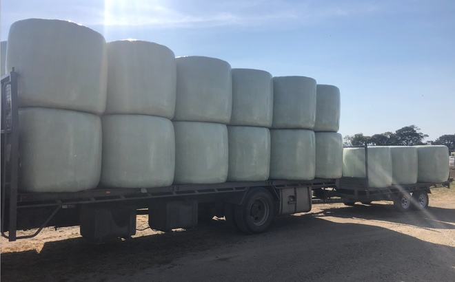 400 x Barley Silage Rolls For Sale