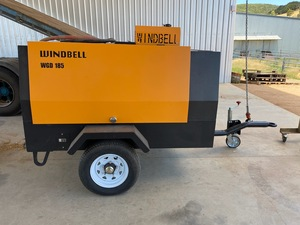 Brand New Diesel 185 CFM Air Compressor