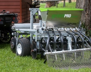 Green Pro Seeder (or small scale tow behind)