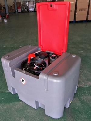400L Poly Diesel Storage Tanks