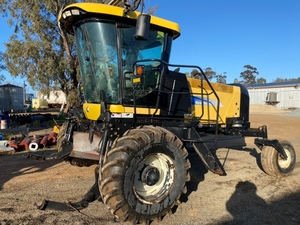 Under Auction - (A146) - New Holland HW 345 Windrower - 2% + GST Buyers Premium On All Lots