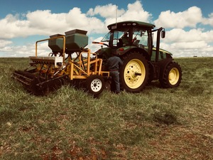 3m Pasture Renovator with 8 Yeomans Tynes & Coulters