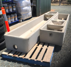 PMM save 5% off RRP on AgCrete Rectangular Water Troughs