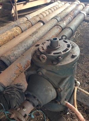 Giles & Gaskin Irrigation Bore Pumps.  Neg.