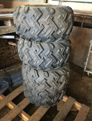 All terrain tyres off John Deere Gator