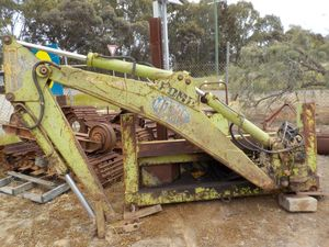 Under Auction - Backhoe Loader Frame Ford 550 - 2% Buyers Premium on all Lots - 2% + GST Buyers Premium On All Lots