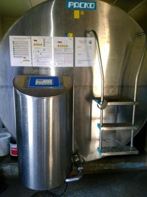 Packo 6200L Milk Vat