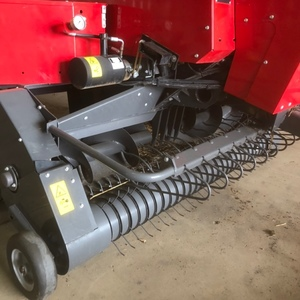 2020 Massey Ferguson 1840 Small Baler & 2020 Rebel Accumulator and 2016 Rebel 15 Bale Grab