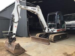 Bobcat 337 5 tonne Excavator