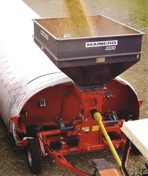 Grain Bag Inloader Hire