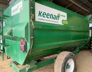 Under Auction - Keenan Mixer Wagon-2% + GST Buyers Premium On All Lots - 2% + GST Buyers Premium On All Lots