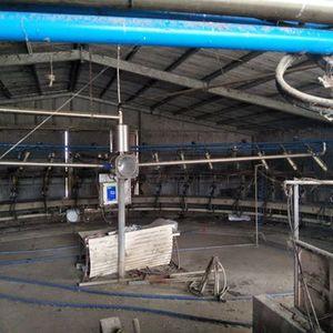 Inside Rotary Dairy