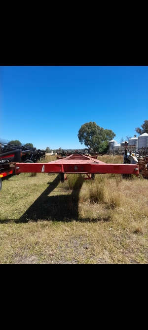 40ft Single Axle Skel Trailer
