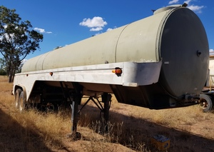 Water Tanker 17,000 LTR Plus Through & Mitsubishi Truck For Droving