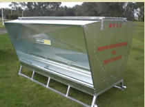 Paton MF18 Sheep & Young Cattle Feeder On Skids