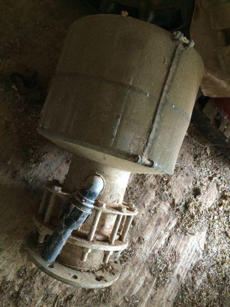 12 inch irrigation pump footvalve