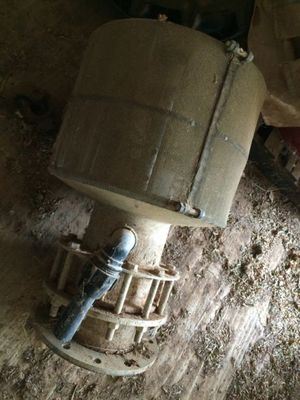 12 inch irrigation pump footvalve