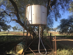 Under Auction - (A132) - Overhead Diesel Tank 1 - 2% + GST Buyers Premium On All Lots