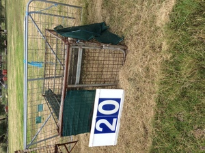 Under Auction - (A129) - Calf Crate 4 Ft x 4 Ft 6 inches - 2% + GST Buyers Premium On All Lots