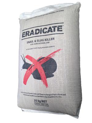 ERADICATE - Snail & Slug Killer (25kg Bag)