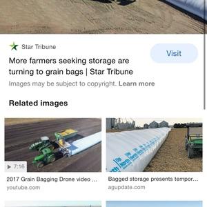Grain Bags x 7