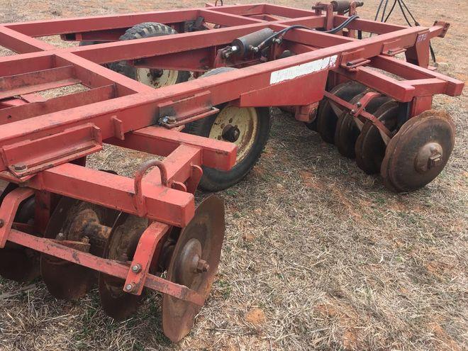 28 Plate Napier Offset Disc Plough