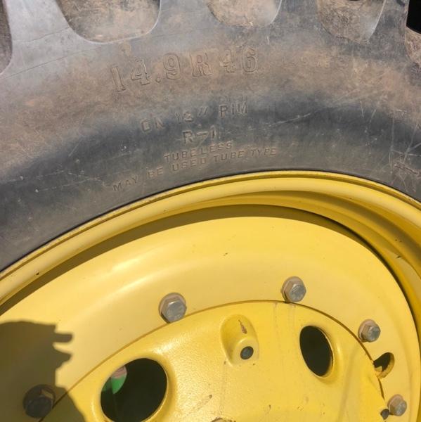 John Deere Tractor Rear Wheels