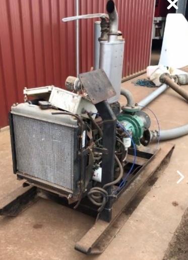 Lister-Petter Motor & Transfer Pump